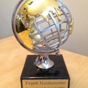 Prix Prospecteur de l'année 2016 par l'Association des prospecteurs du Saguenay-Lac-St-Jean.