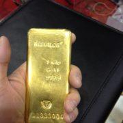 Un kilogramme d'or! 1 KG Au