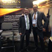 Frank Guillemette (MRBoréal) & Gernot Wober (Osisko Mining), 2016